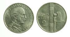 pcc1645_11)  Vittorio Emanuele III (1900-1943) - Buono da 2 Lire 1925 Fascio