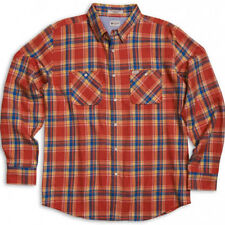MATIX Popshot Flannel Shirt (L) Red