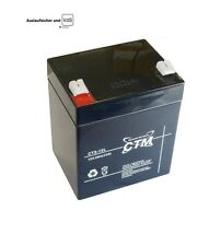 CTM CT 4,5A - 12V Gitter Vlies (Glasfaservlies) AGM Gel Akku 12Volt Power VdS