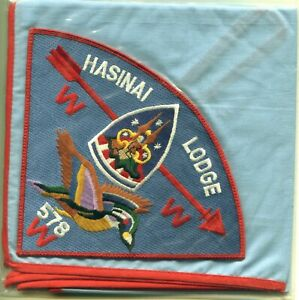 Lodge 578 Hasinai, Neckerchief P3b, 1989, 1 per advancement