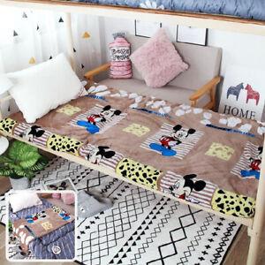 2020 Dormitory 0.9m bed foldable cotton pad sleeping mat cartoon single mattress