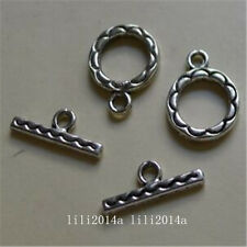 20set Tibetan Silver Toggle Clasps For Necklace Bracelet Clasp Wholesale PL904