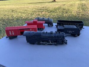 VINTAGE MARX STREAM LINE, STEAM TYPE, ELECTRICAL TRAIN (1829) SET OF 6, O SCALE