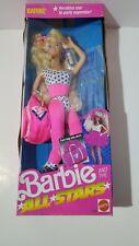 Mattel Barbie & The All-Stars Aerobics Barbie Doll New In Box Nib 9099 (C) 1989
