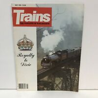 Trains The Magazine Of Railroading Back Issue July 1979 Royalty To Dixie Diesel