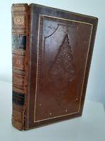 1825 OEUVRES COMPLETES DE J.J. ROUSSEAU P.R. AUGUIS TOME 13 DALIBON  EX-LIBIS