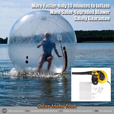 2M Water Walking Ball Zorb Ball INFLATABLE German Zip Best Blower US STOCK