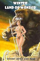 CAVEWOMAN CONVENTION BOOK - 2017 WINTER - MATURE- SIGNED BY BUDD ROOT!