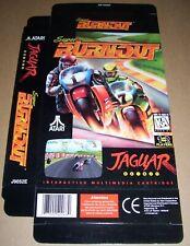 Atari Jaguar 64-Bit Games Console Original Burnout Game Box NEW P/N: J9052E