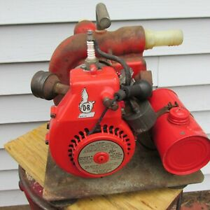 Ohlsson & Rice Kenco Model 16 gas powered pump very original.  .