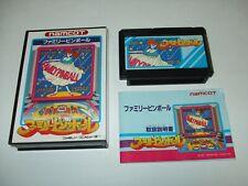 Family Pinball Boxed with Manual Nintendo Famicom FC Japan import
