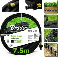 LANDSCAPE GRADE THICK WALLED POROUS PIPE/DRIP LINE/LEAKY HOSE/SOAKER HOSE