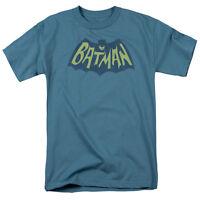Batman BAT SHOW TV SERIES LOGO Licensed Adult T-Shirt All Sizes