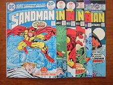 DC Bronze Age - The SANDMAN 1 - 6 Complete Run - Kirby - NICE Mid Grade Set !!