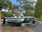 1996 Boston Whaler Justice 19 with Mercury 225 and aluminum Trailer