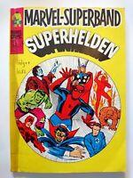 MARVEL-SUPERBAND SUPERHELDEN | NR 10 | HULK - SPINNE - F4 - THOR | Z 2+