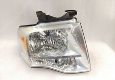 Ford Expedition OEM passenger headlight assembly chrome clear 07-14 head lamp RH