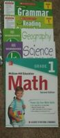 1st First grade homeschool curriculum: Math, Grammar, Reading, Science, History