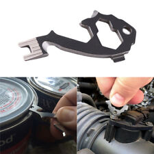 EDC Stainless Steel Tactical Multi-function Pocket Opener Tool Key Ring Keychain