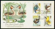 Mayfairstamps Great Britain FDC 1980 Bird Combo Great Crested Grebe First Day Co