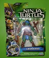 Leonardo ~ Ninja Turtles Movie Action Figure Brand New Playmates 2014