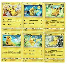 6 x Pokemon Pikachu Deutsch # 3