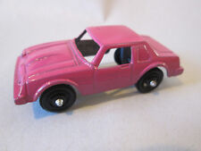 "TootsieToy Chevrolet Chevy Monza Sports Car (Pink USA 2 1/4"" Diecast USA) Nice"