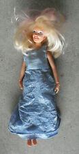 Vintage 1985 Hasbro Blonde Jem Girl Doll with Click Knees