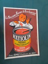 """Carte postale """"LA MEILLEURE PEINTURE DE BESTE GLANSVERF""""  NATIOLIN """""""