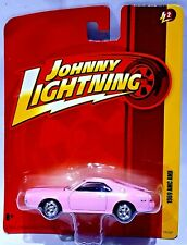 Johnny Lightning 1969 AMC AMX PINK with BLACK STRIPES 1/64 SCALE DIECAST VRHTF