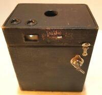Eastman Kodak No 2A Model B Brownie Antique Box Camera Last Patent Date 1909