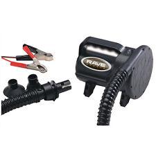 RAVE High Pressure Inflatable Inflator/Deflator 12V Air Pump with Alligator Clip