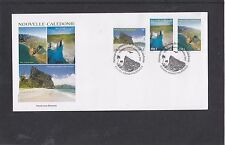 New Caledonia 2013 Scenic Views First Day Cover FDC Noumea pictorial h/s