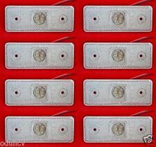 8 piezas 24v LED Delantero Blanco Lateral Luces de marcaje para RENAULT