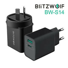 BlitzWolf BW-S14 18W USB Type C Fast Quick Charge QC 3.0 Charger Wall Adapter