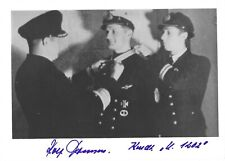 Rolf Thomsen, Signed Photo, U-Boat Captain, U-1202, Knight's Cross, Kriegsmarine