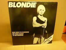 "Blondie - Rip Her to Shreds 1977 12"" Single Vinyl Rare CHS 2180 Chrysalis"