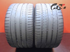 2 Very Nice Michelin Tires 325/30/21 ZR Pilot Super Sport 108Y OEM BMW #43399