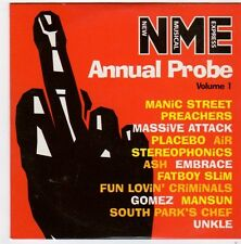 (FI559) Annual Probe Vol 1, 13 tracks - 1999 NME CD