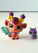 Littlest Pet Shop LPS Hasbro Sparkle Glitter Garden Fairy #2616 #2617 Flawless