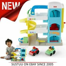 Fisher-Price Little People Wheelies Garage Playset Kid's Activity Toy +12 Months