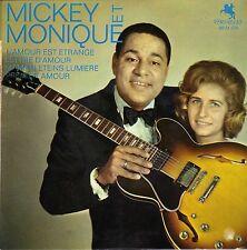 MICKEY BAKER & MONIQUE L'AMOUR EST ETRANGE FRENCH ORIG EP