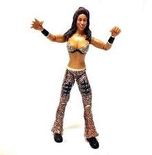"WWE WWF TNA WRESTLING classics Diva MELINA 6"" POPULAR DIVA action figure RARE"
