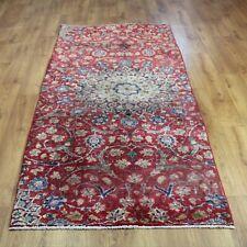 Traditional Handma Classic Oriental Vintage Wool Area Rug Carpet 235X103 cm