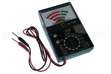Universal Batterietester mit analoger Skalenanzeige Anzeige - Messgerät