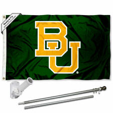 Baylor Bears Flag Pole and Bracket Gift Set Package