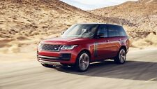 2018 RANGE ROVER SVAUTOBIOGRAPHY DYNAMIC Art Silk Wall Poster  - 24x36 inches