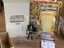 DC Universe Justice League Unlimited LOBO SDCC Exclusive Matty Collector OPENED