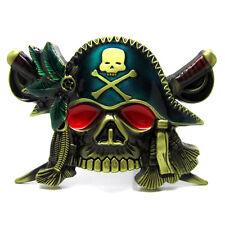 Novelty Cool Pirate Of The Seas Skulls Belt Buckles Rebel Sin Skeleton Brand New