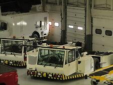 FMC Aircraft Towbarless Pushback Tow Tractor.  Aircraft Tug.